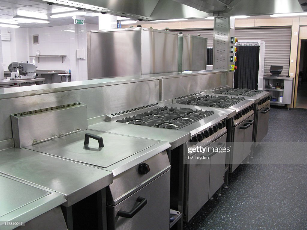 Spotless Professional Catering Kitchen