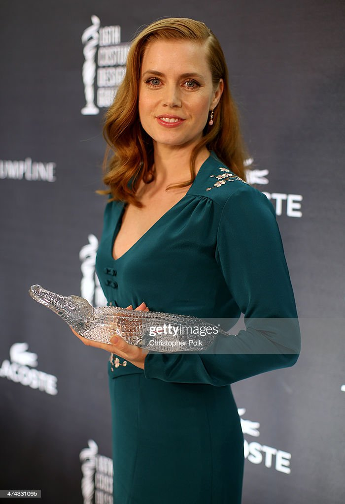Spotlight Award Honoree <a gi-track='captionPersonalityLinkClicked' href=/galleries/search?phrase=Amy+Adams&family=editorial&specificpeople=213938 ng-click='$event.stopPropagation()'>Amy Adams</a> attends the 16th Costume Designers Guild Awards with presenting sponsor Lacoste at The Beverly Hilton Hotel on February 22, 2014 in Beverly Hills, California.