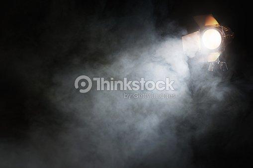Spotlight on the stage : Foto de stock
