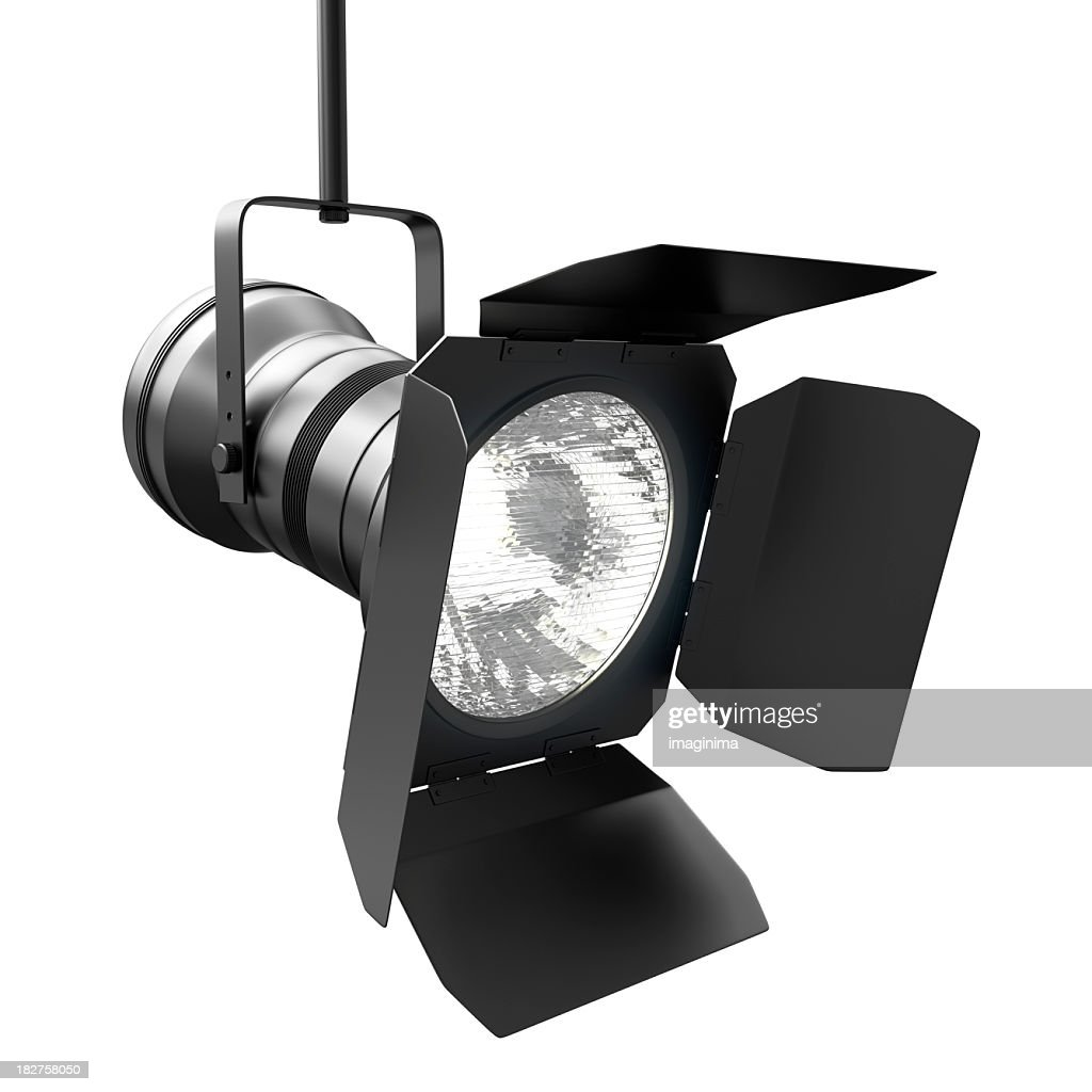 Spotlight with Clipping Path