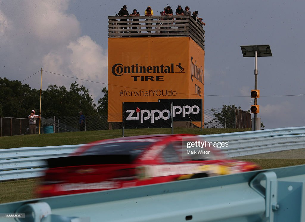 Spotters watch Jamie McMurray, driver of the #1 McDonald's Chevrolet, during practice for the NASCAR Sprint Cup Series Cheez-It 355 at Watkins Glen International on August 8, 2014 in Watkins Glen, New York.