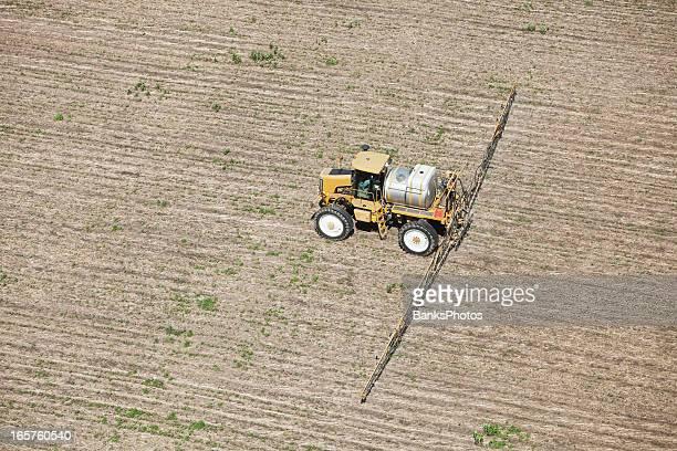 Sprayer Anwendung Herbicide zu Corn Field
