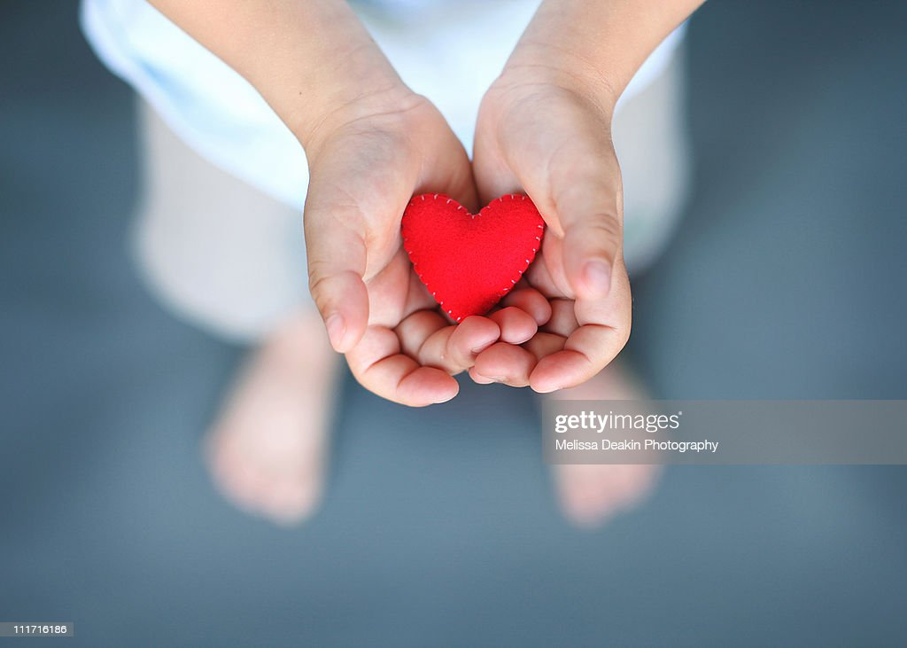 Spread love : Stock Photo