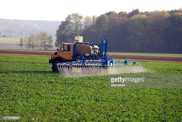 Propagação de pesticidas