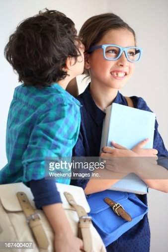 Spreading the good news : Stock Photo