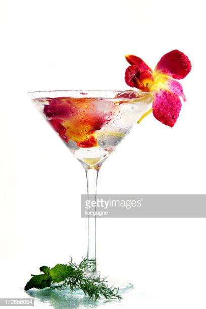 Spring cocktail