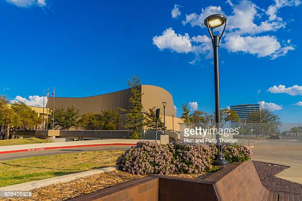 Spring foliage in downtown Lubbock, Texas (P)