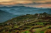 Spring in Bashevo village, Eastern Rhodopes, Bulgaria