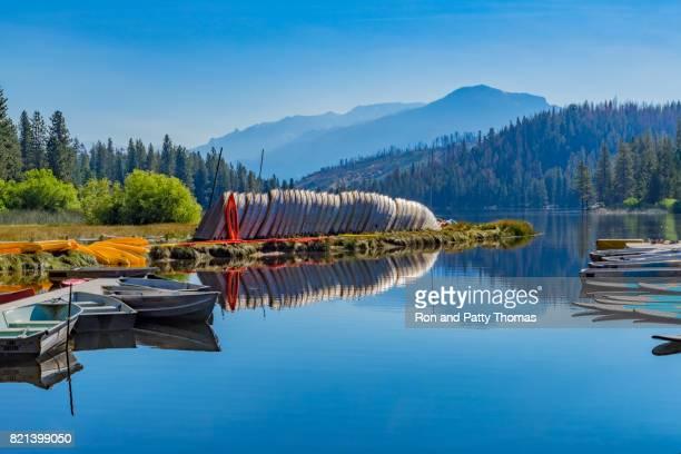 Spring morning at Hume Lake near Kings Canyon National Park, CA