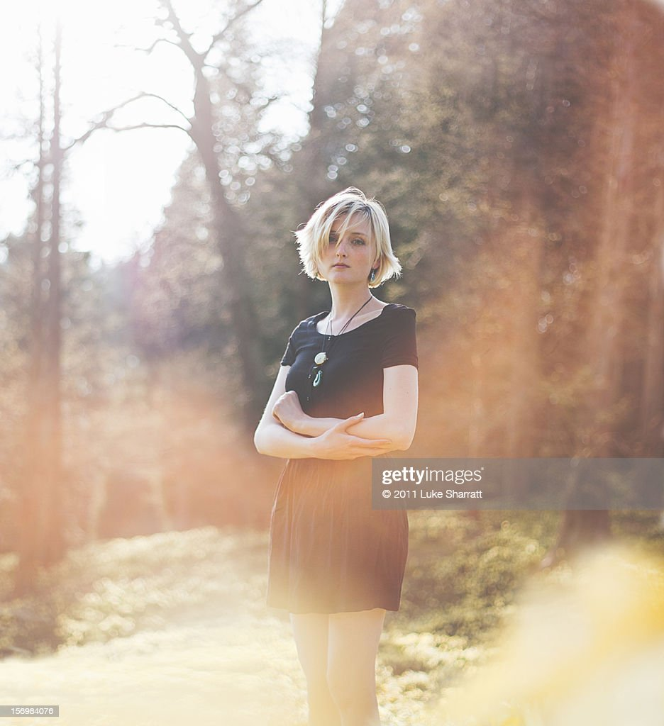 Spring portrait : Stock Photo