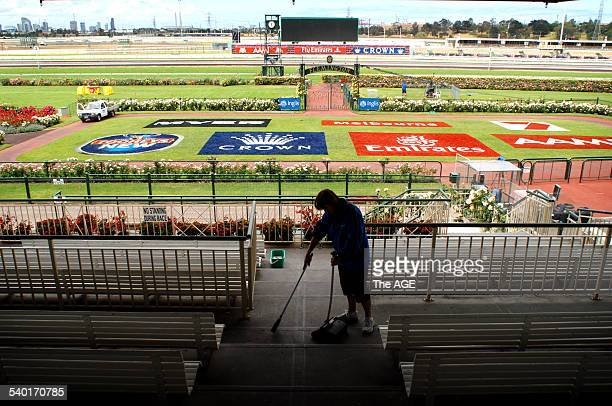 Spring Racing Carnival 2006 Final preparations are made for the Spring Racing Carnival at Flemington Racecourse which kicks off with Derby Day 3...