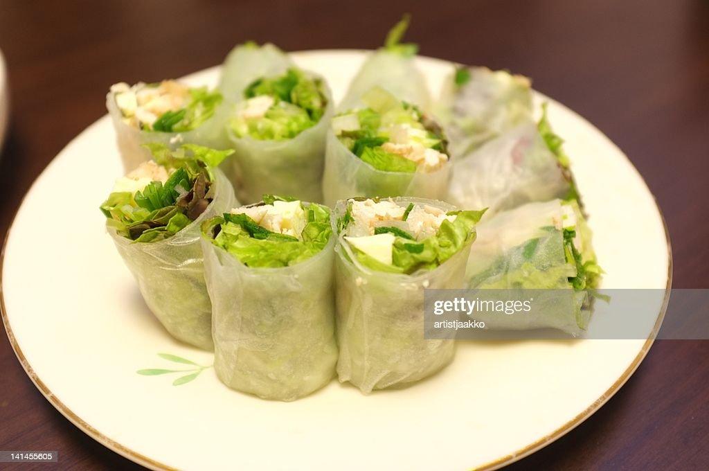 Spring rolls : Stock Photo