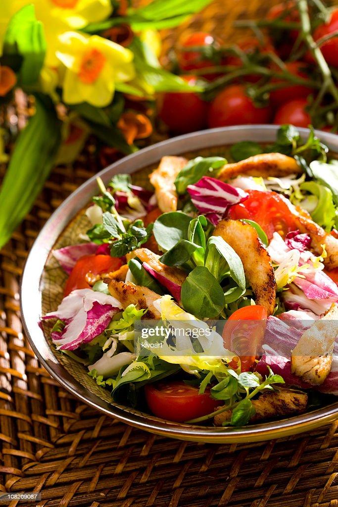 Spring salad : Stock Photo
