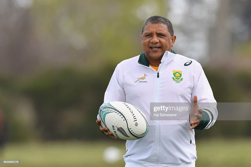South Africa Training Session
