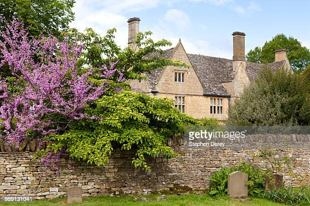 Springtime in the Cotswold village of Stanton