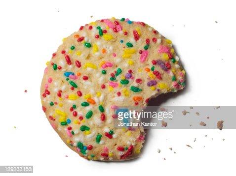 Sprinkle Cookie : Stockfoto