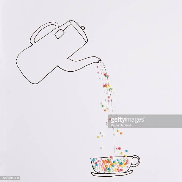 Sprinkle tea