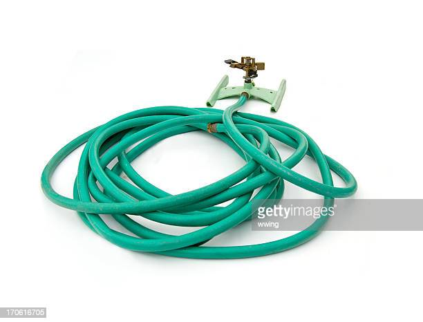 Sprinkler and Hose