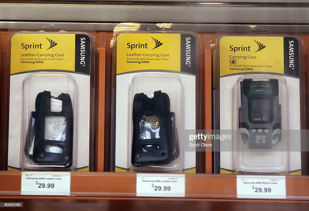 Sprint branded merchadise is offered for sale at a Sprint Nextel retail store February 28, 2008 in Chicago Illinois. Sprint said it lost $29.5 billion during the quarter ending Dec. 31.
