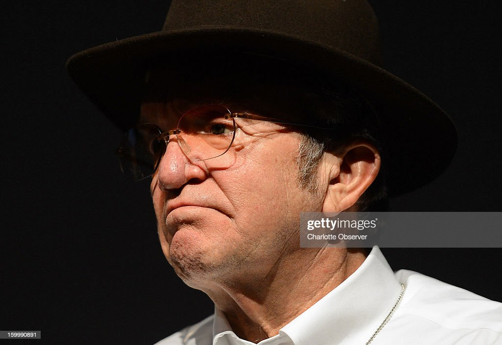 Sprint Cup Series co-owner Jack Roush of Roush Fenway Racing listens to a question during the Sprint NASCAR Media Tour on Thursday, January 24, 2013, at the NASCAR Hall of Fame in Charlotte, North Carolina.