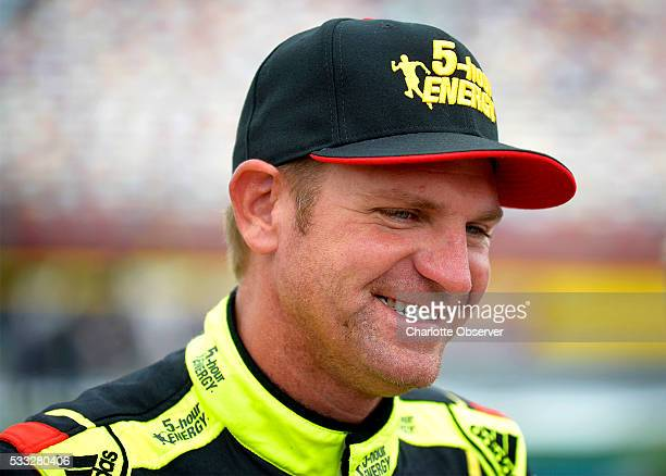 Sprint Cup Series driver Clint Bowyer prior to the 31st Annual Sprint Showdown race at Charlotte Motor Speedway in Concord NC on Saturday May 21 2016