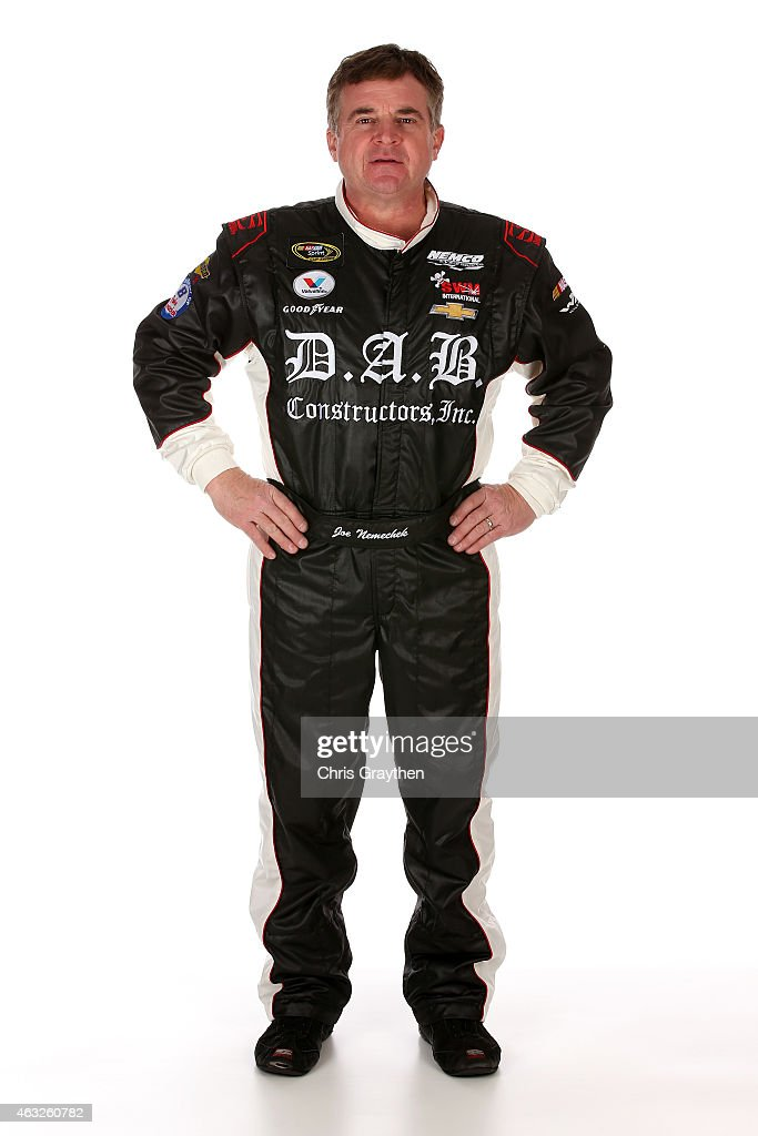 Sprint Cup Series driver <a gi-track='captionPersonalityLinkClicked' href=/galleries/search?phrase=Joe+Nemechek&family=editorial&specificpeople=176518 ng-click='$event.stopPropagation()'>Joe Nemechek</a> poses for a portrait during the 2015 NASCAR Media Day at Daytona International Speedway on February 12, 2015 in Daytona Beach, Florida.