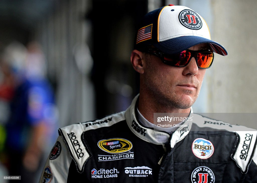 Sprint Cup Series driver Kevin Harvick at Charlotte Motor Speedway in Concord, N.C., on Thursday, May 26, 2016.