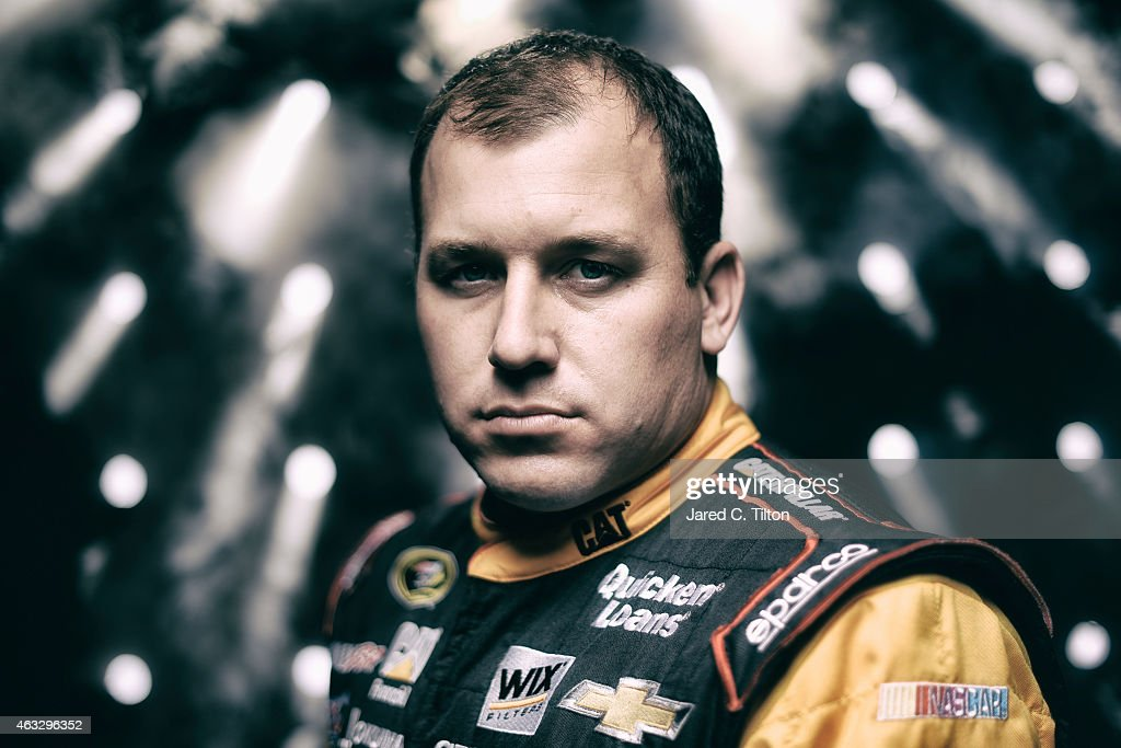 Sprint Cup Series driver <a gi-track='captionPersonalityLinkClicked' href=/galleries/search?phrase=Ryan+Newman+-+Racerf%C3%B6rare&family=editorial&specificpeople=12773547 ng-click='$event.stopPropagation()'>Ryan Newman</a> poses for a portrait during the 2015 NASCAR Media Day at Daytona International Speedway on February 12, 2015 in Daytona Beach, Florida.