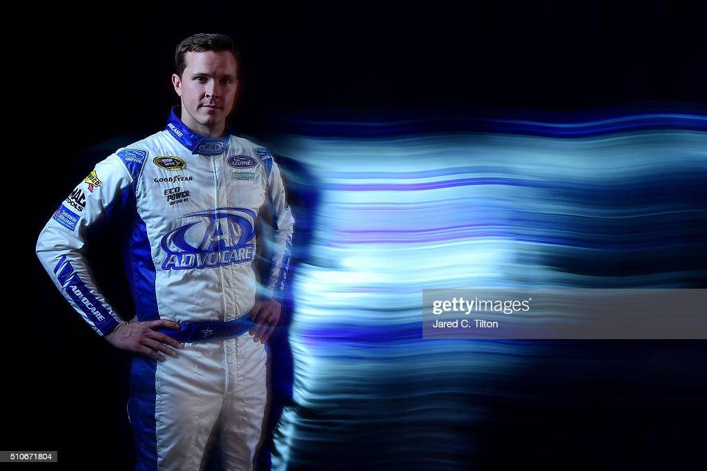 2016 NASCAR Media Day - Creative Portraits
