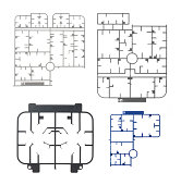 sprue or injection moulding of toy on white background