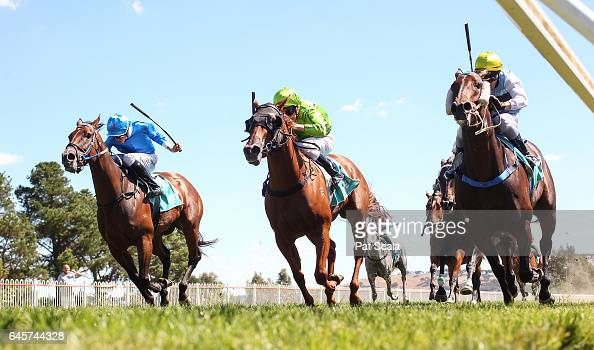Sprung Dancing ridden by Ryan Maloney wins the Ord Motorcycles Ararat BM64 Handicap at Ararat Racecourse on February 27 2017 in Ararat Australia