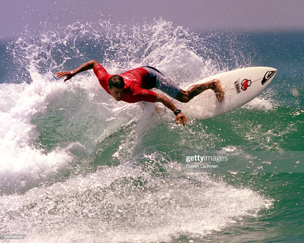 Huntington beach california stock photos and pictures getty images - Spsurfingslaterrdl Surfer Kelly Slater Makes A Turn Off The Top Of The Wave At
