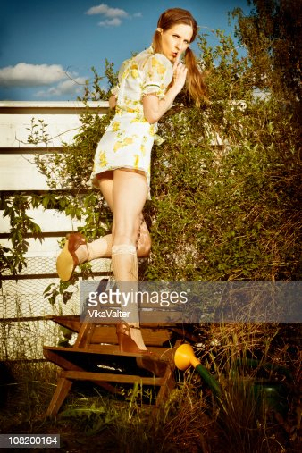 spy over fence