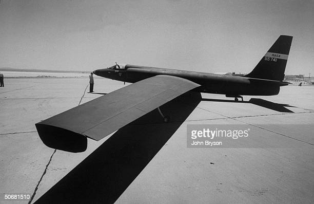 U2 spy plane developed by Lockheed for covertly spying on the Soviet Union from 13 miles up