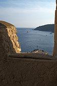 Vista del mare dall'Isola di San Nicola alle Tremiti