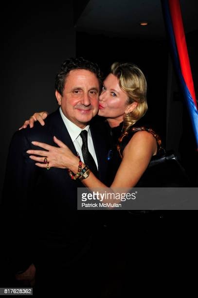 Spyros Niarchos and Lady Liliana Cavendish attend ACRIA 15th Annual Holiday Benefit Dinner hosted by InStyle Magazine and Urban Zen at Urban Zen...