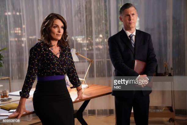 NEWS 'Squad Feud' Episode 202 Pictured Tina Fey as Diana Chris Parnell as Gerald