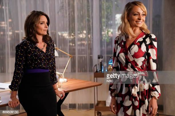 NEWS 'Squad Feud' Episode 202 Pictured Tina Fey as Diana Nicole Richie as Portia