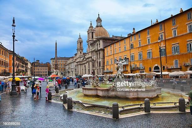 Square Baroque in Rome.