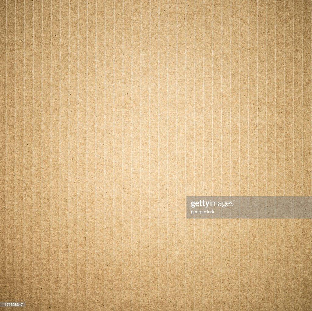 Square Cardboard Background