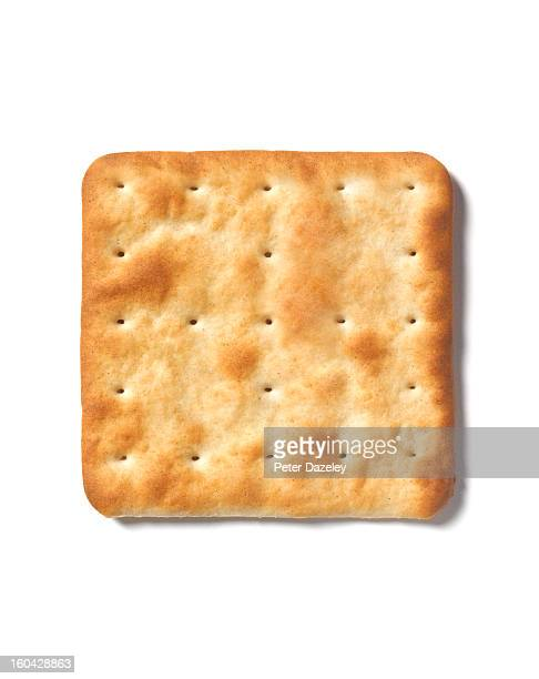 Square cracker with copy space