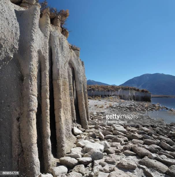 Square Crop Image of Crowley Lake Tufa Columns, California