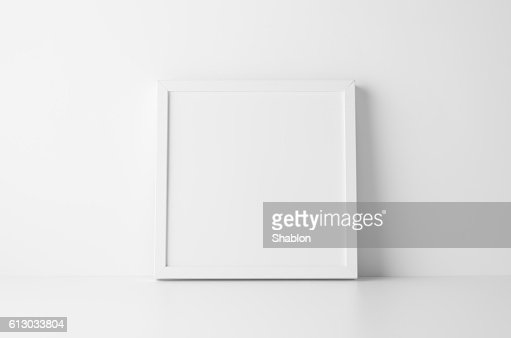 Square Frame Mock-Up : Stock Photo