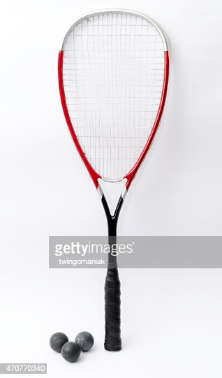 Squash racket : Stock Photo