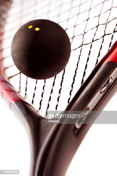 Squash racquetball and racket