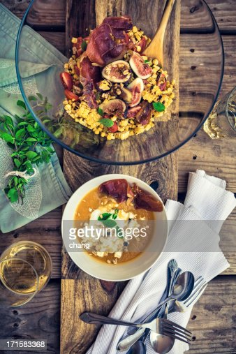Roasted Butternut Squash Soup Stock Photos and Pictures Getty Images