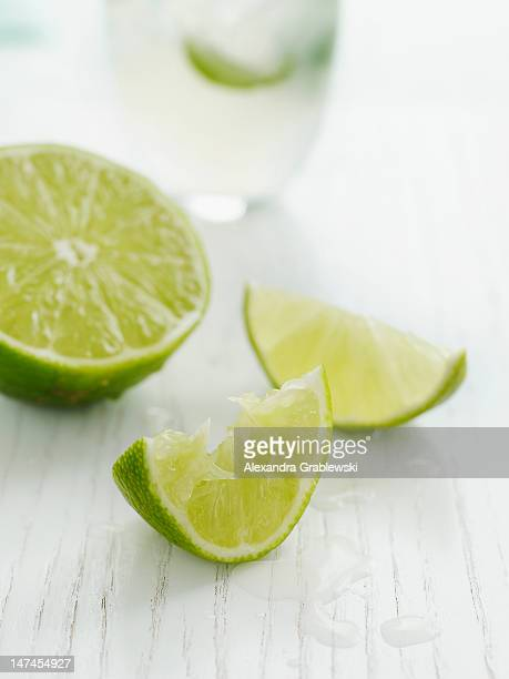 Squeezed Lime Wedge