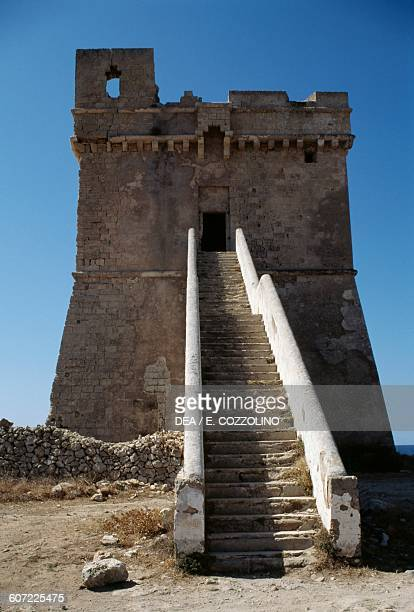 Squillace tower Porto Cesareo Apulia Italy 16th century