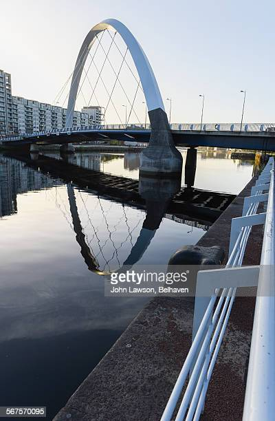 Squinty Bridge or Clyde Arc, Glasgow