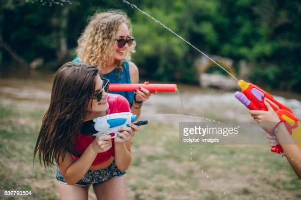 Combats de canons squirt